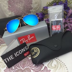 Blue Sunglasses New RB3025 112/17
